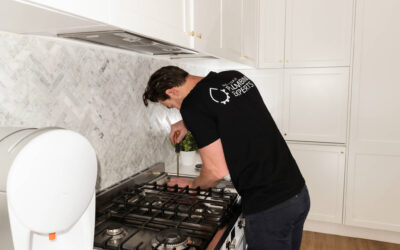 Gas Cooktop and Oven Installation