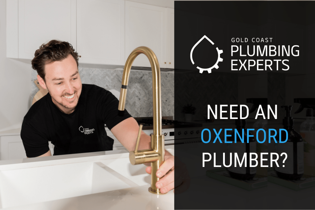 Local Plumbers Oxenford Banner