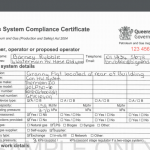 gas compliance certificate queensland