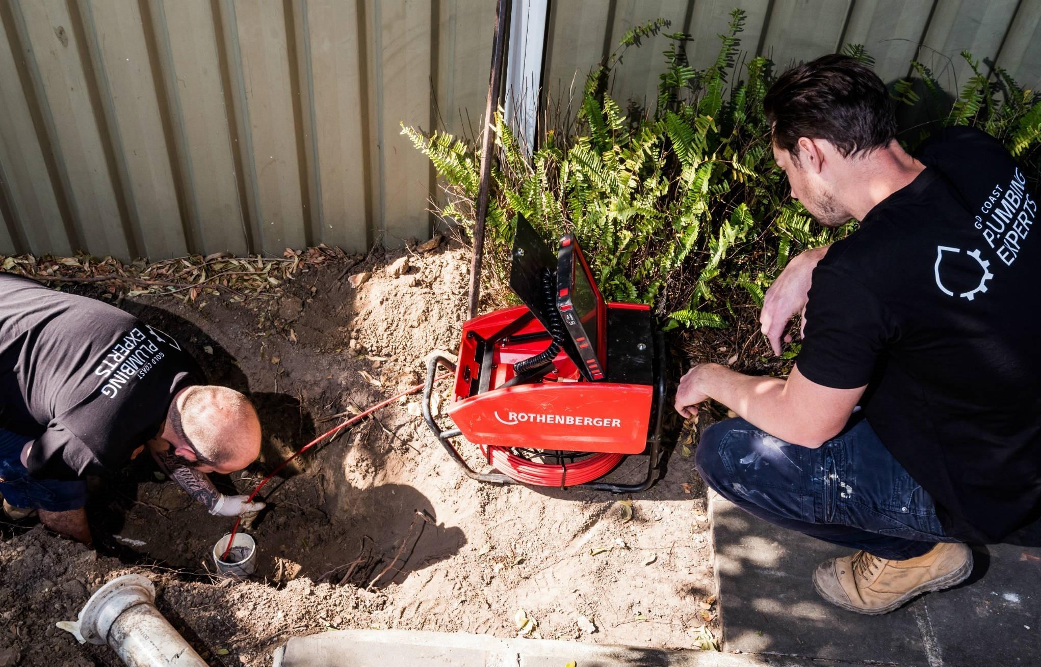 drain inspection camera gold coast