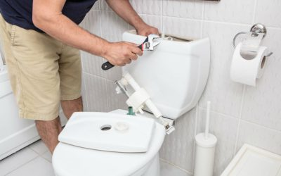 how to replace a toilet cistern