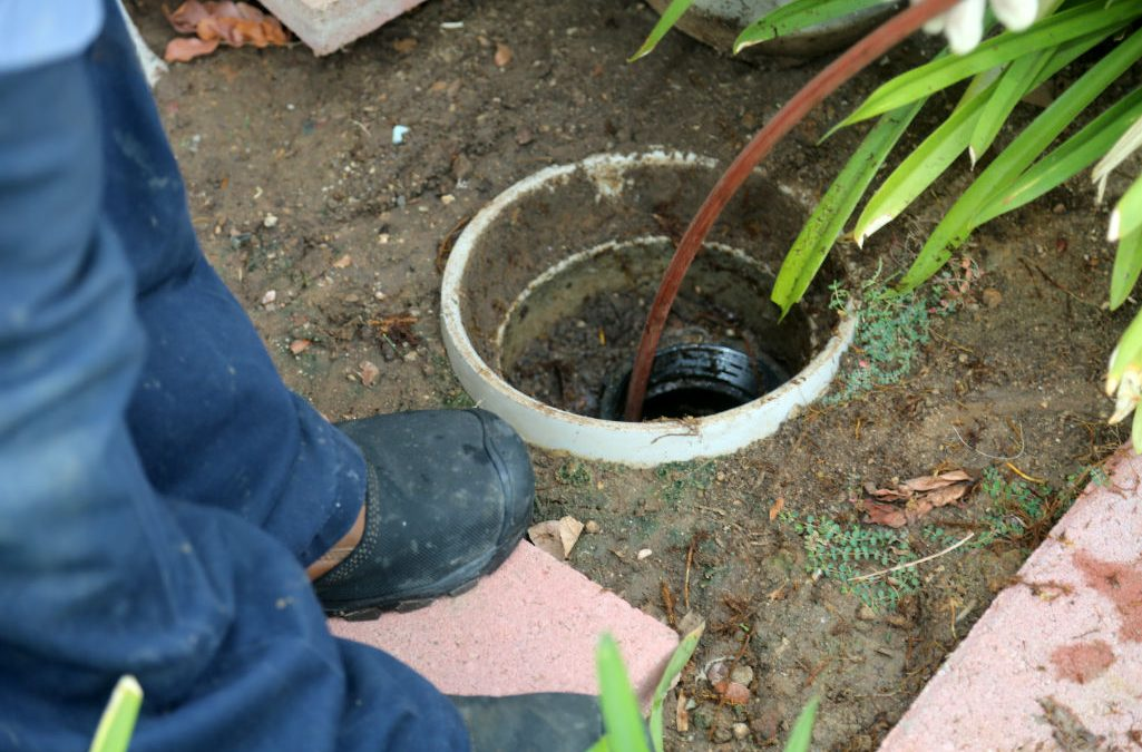 how to unblock a sewage drain